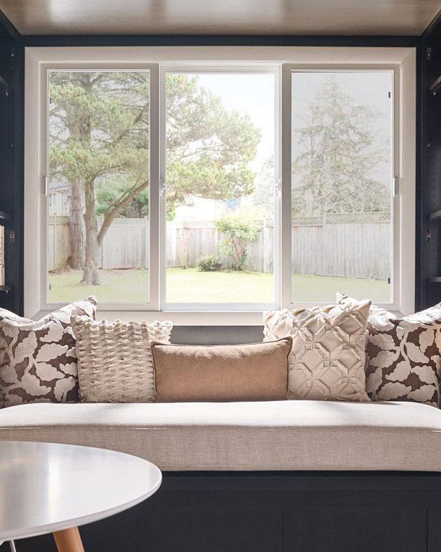 Milgard's Ultra fiberglass windows are a beautiful addition to Okanagan homes