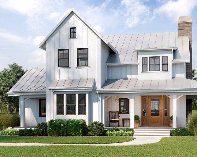 Modern farmhouse for Okanagan home builders