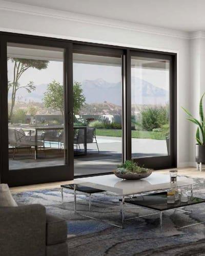 Patio doors for Okanagan homeowners by Adera Windows & Doors